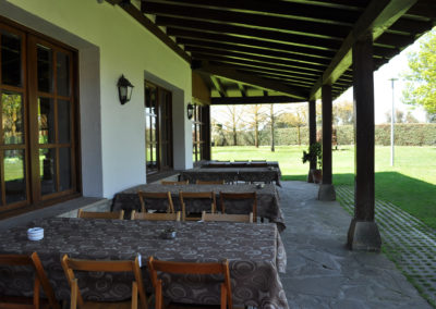 Asador Mutiloa. Navarra. Restaurante familiar. Restaurante con jardín y columpios. Pamplona