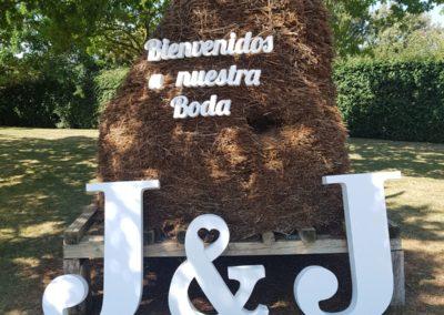 Asador Mutiloa. Navarra. Jardín para bodas civiles. Boda rústica
